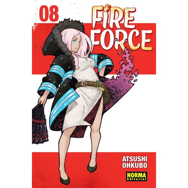 Fire Force #08 Manga Oficial Norma Editorial