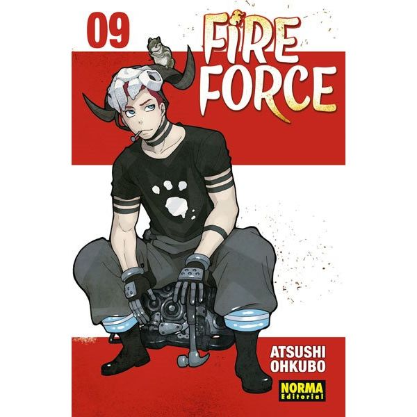 Fire Force #09 Manga Oficial Norma Editorial