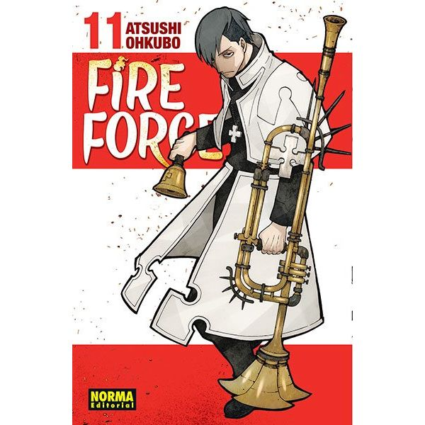 Fire Force #11 Manga Oficial Norma Editorial