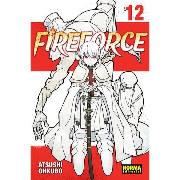 Fire Force #12 Manga Oficial Norma Editorial