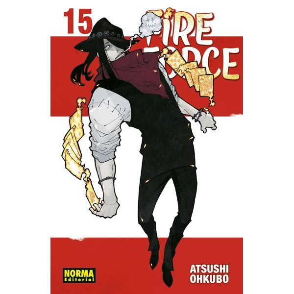 Fire Force #15 (spanish) Manga Oficial Norma Editorial