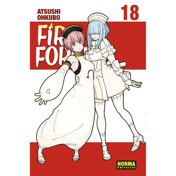 Fire Force #18 Manga Oficial Norma Editorial
