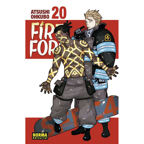 Fire Force #20 Manga Oficial Norma Editorial (Spanish)