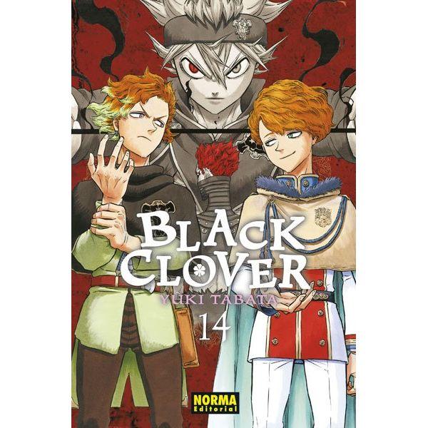 Black Clover #14 (Spanish) Manga Oficial Norma Editorial
