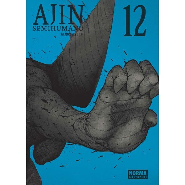 Ajin Semihumano #12 Manga Oficial Norma Editorial
