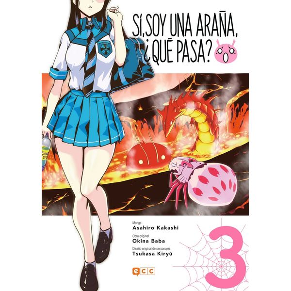 Sí, soy una araña, ¿qué pasa? #03 (spanish) Manga Oficial ECC Ediciones