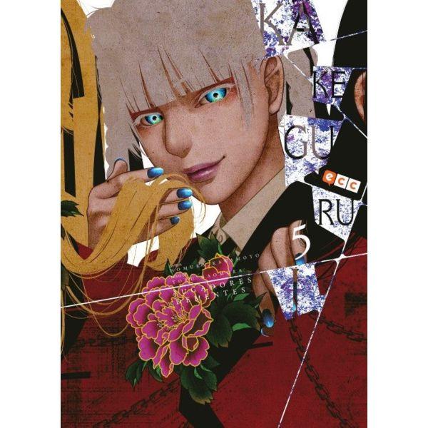 Kakegurui Jugadores Dementes #05 Manga Oficial ECC Ediciones