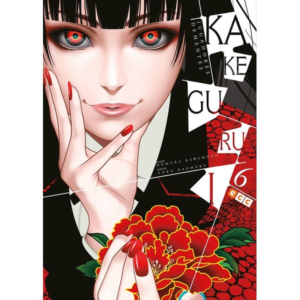 Kakegurui Jugadores Dementes #06 Manga Oficial ECC Ediciones (spanish)