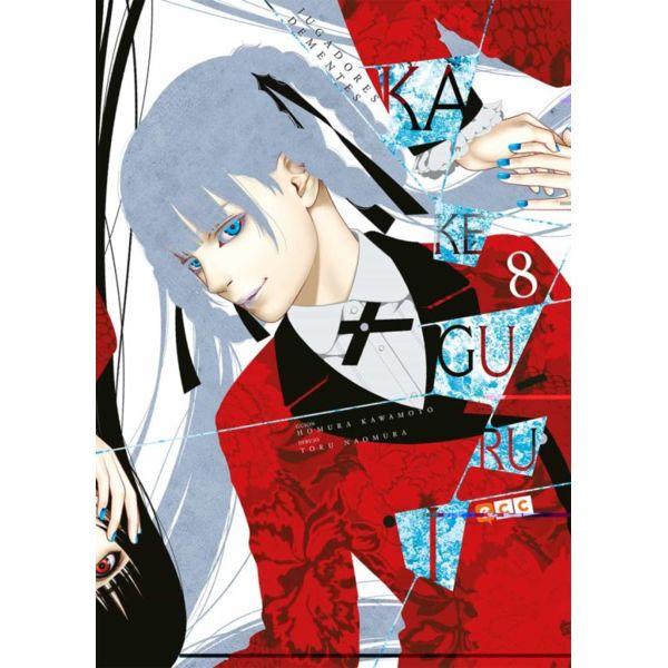 Kakegurui Jugadores Dementes #08 Manga Oficial ECC Ediciones