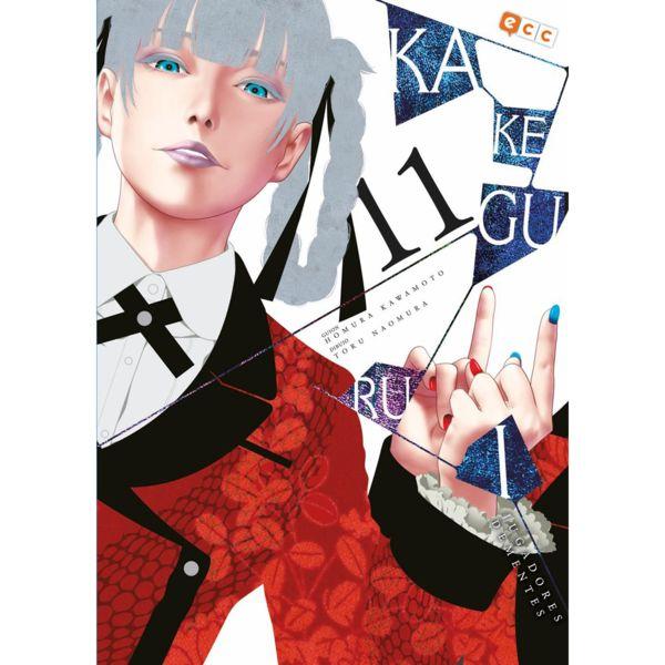 Kakegurui Jugadores Dementes #11 Manga Oficial ECC Ediciones