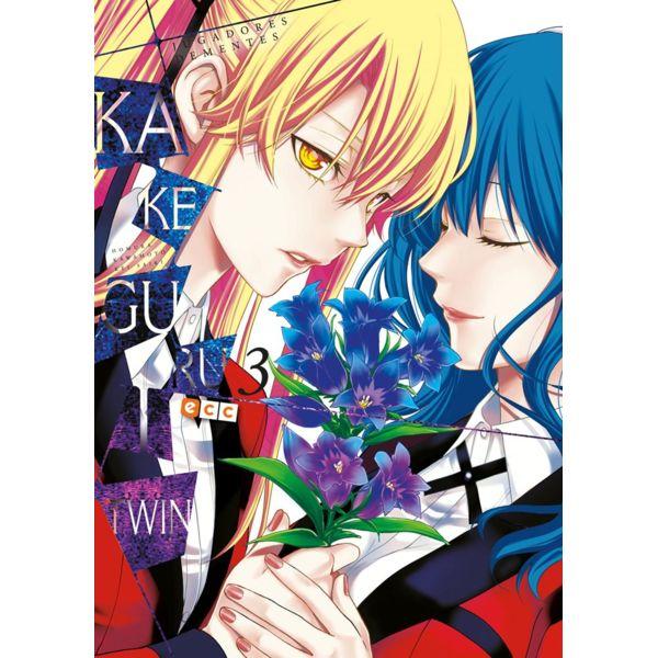 Kakegurui Twin Jugadores Dementes #03 Manga Oficial ECC Ediciones