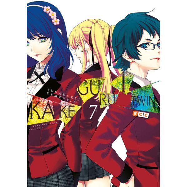 Kakegurui Twin Jugadores Dementes #07 (spanish) Manga Oficial ECC Ediciones