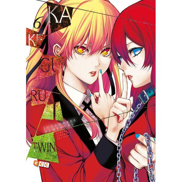 Kakegurui Twin Jugadores Dementes #06 (spanish) Manga Oficial ECC Ediciones