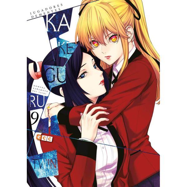Kakegurui Twin Jugadores Dementes #09 (spanish) Manga Oficial ECC Ediciones