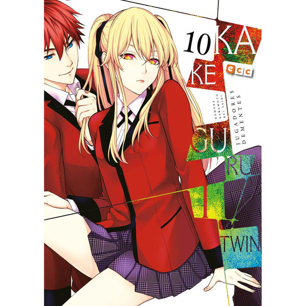 Kakegurui Twin Jugadores Dementes #10 Manga Oficial ECC Ediciones (Spanish)