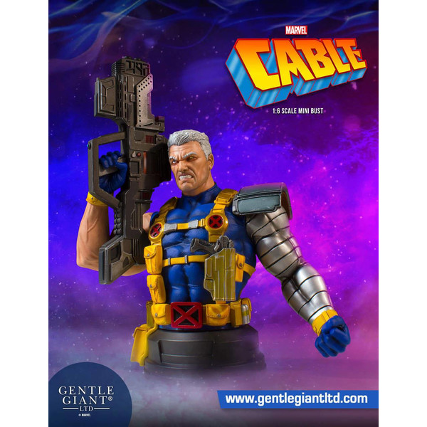 Busto Cable Marvel Comics