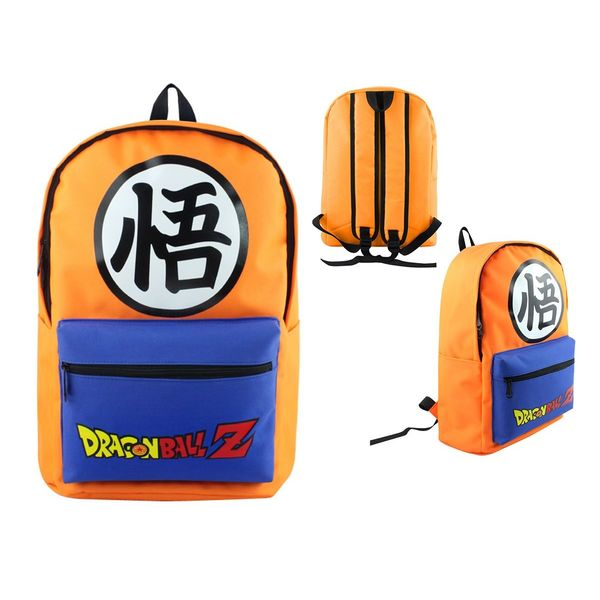 Mochila Kanji Goku Dragon Ball Z