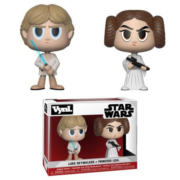 Funko Princess Leia & Luke Skywalker Star Wars VYNL