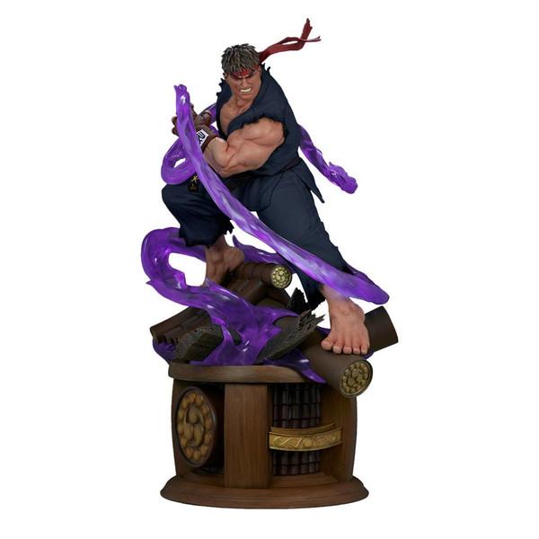 Estatua Evil Ryu Street Fighter Ultra
