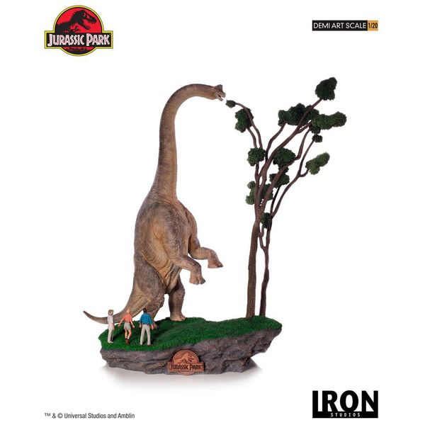 Welcome to Jurassic Park Statue Jurassic Park Art Scale
