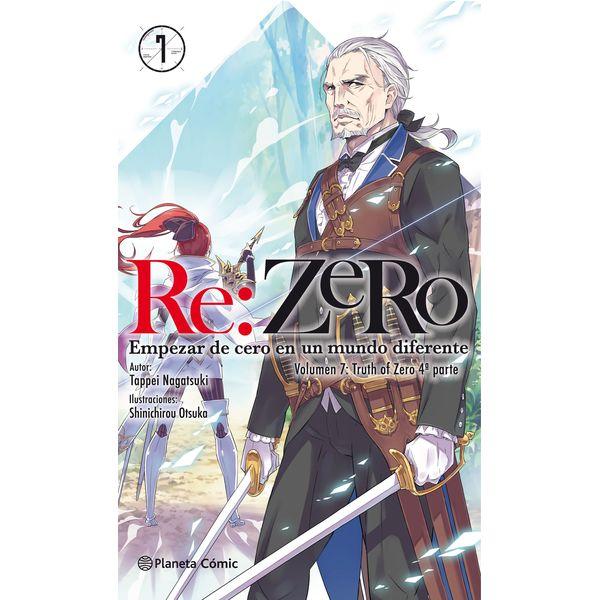 Re:Zero 07 Novela Oficial Planeta Comic