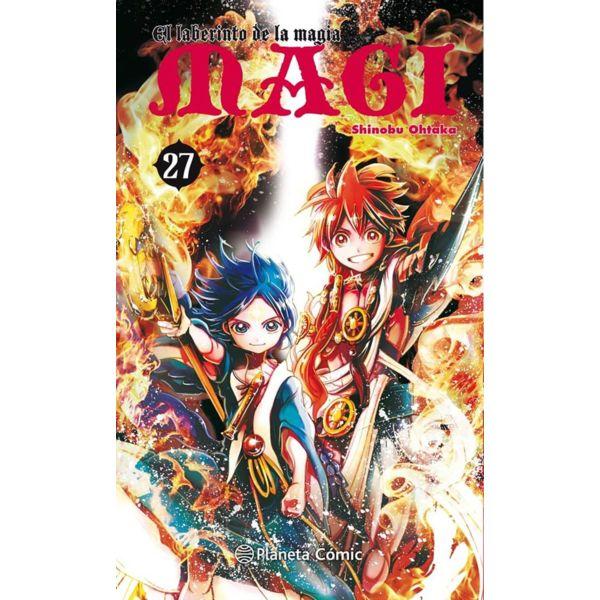 MAGI El laberinto de la magia #27 Manga Oficial Planeta Comic (Spanish)