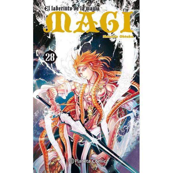 MAGI El laberinto de la magia #28 Manga Oficial Planeta Comic (Spanish)