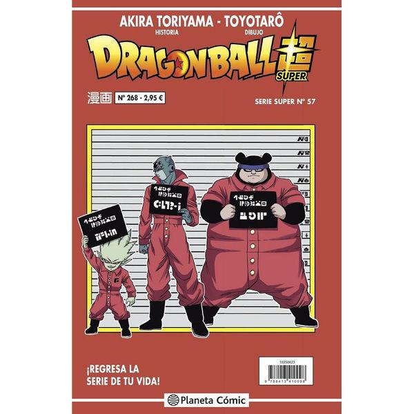 Dragon Ball Super #57 (Serie Roja #268) Manga Oficial Planeta Comic