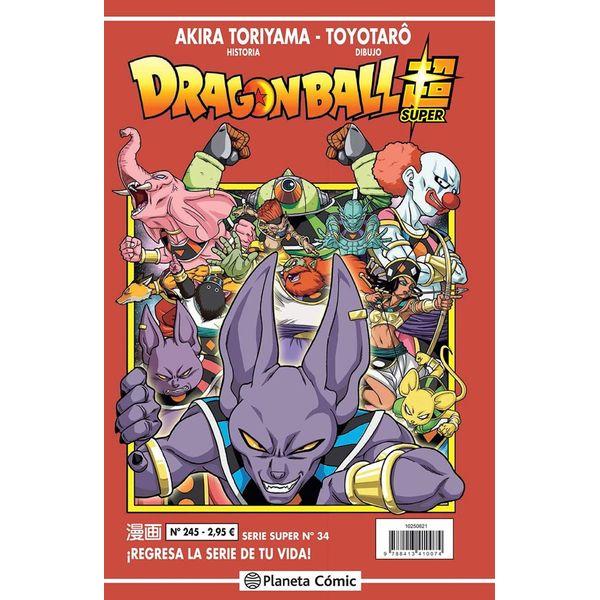 Dragon Ball Super Serie Super #34 Manga Oficial Planeta Comic