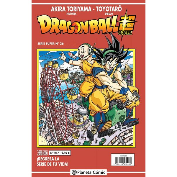 Dragon Ball Super Serie Super #36 Manga Oficial Planeta Comic