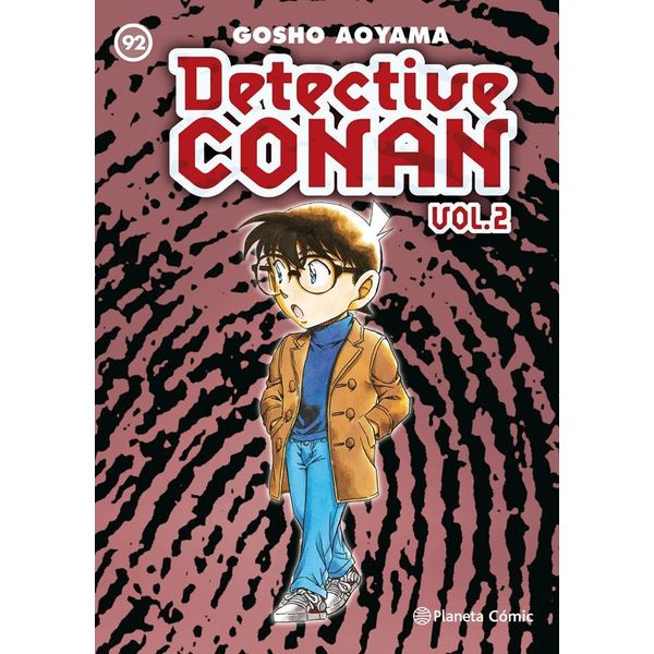 Detective Conan Vol 2 #92 Manga Oficial Planeta Comic