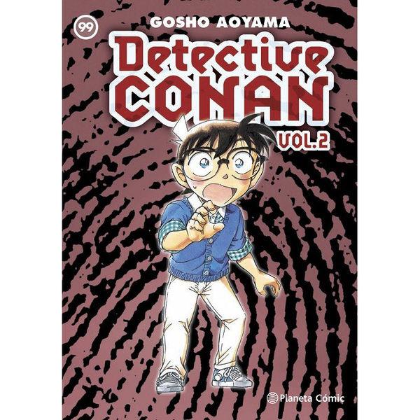Detective Conan Vol 2 #99 Manga Oficial Planeta Comic (Spanish)