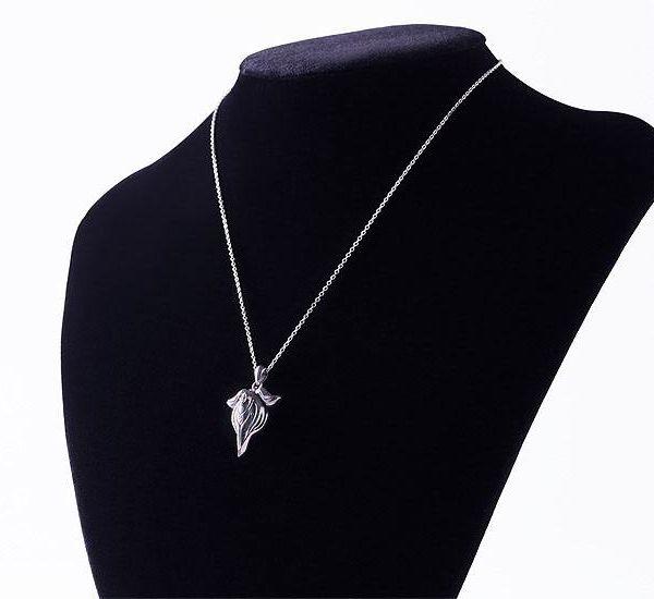 Collar con Colgante Riko White Whistle Made in Abyss Plata de ley