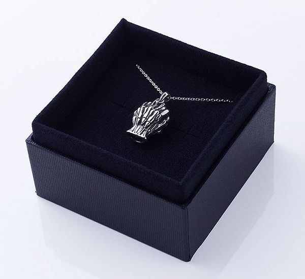 Collar con Colgante The Lord of Dawn White Whistle Made in Abyss Plata de ley