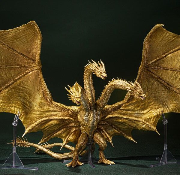 Figura King Ghidorah Special Color Version Godzilla King of the Monsters SH MonsterArts