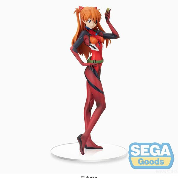 Figura Asuka Shikinami Langley Evangelion Thrice Upon a Time SPM