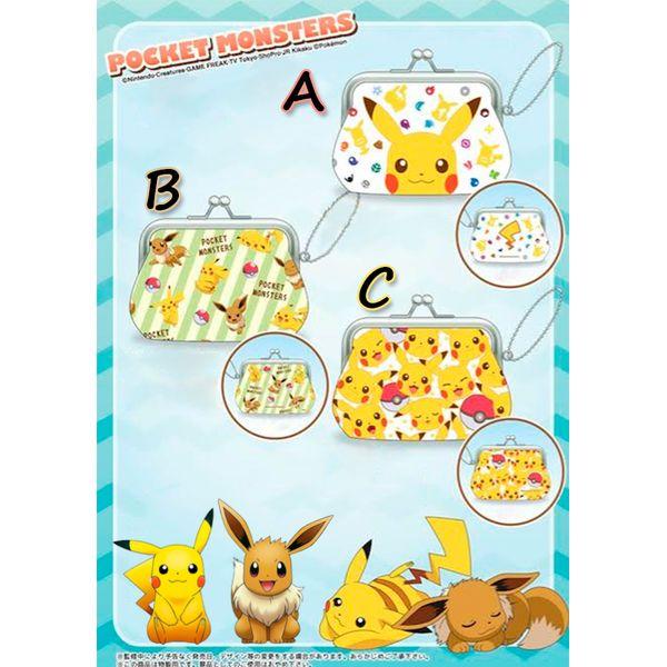 Wallet Pokemon - Pikachu & Eevee