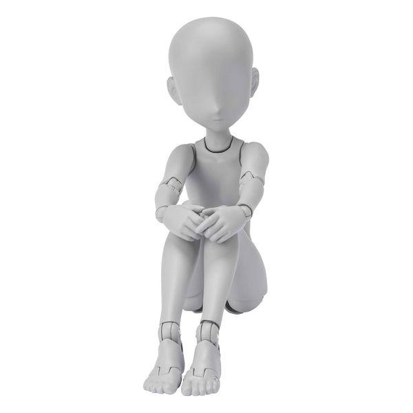 SH Figuarts Body Chan Ken Sugimori Edition DX Set Gray Color Version