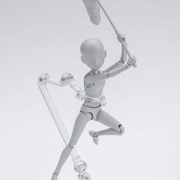 SH Figuarts Body Kun Ken Sugimori Edition DX Set Gray Color Version
