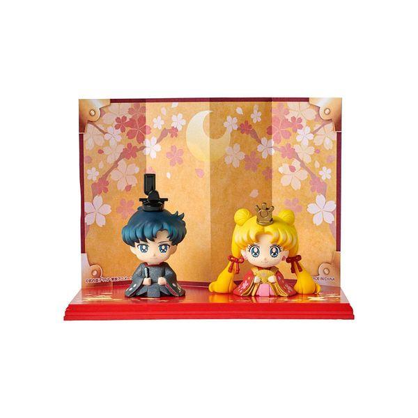 Hinamatsuri Usagi & Mamoru Figure Sailor Moon Petit Chara Set