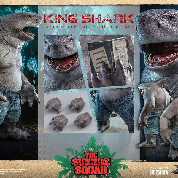 Figura King Shark Escuadron Suicida DC Comics Movie Masterpiece Hot Toys