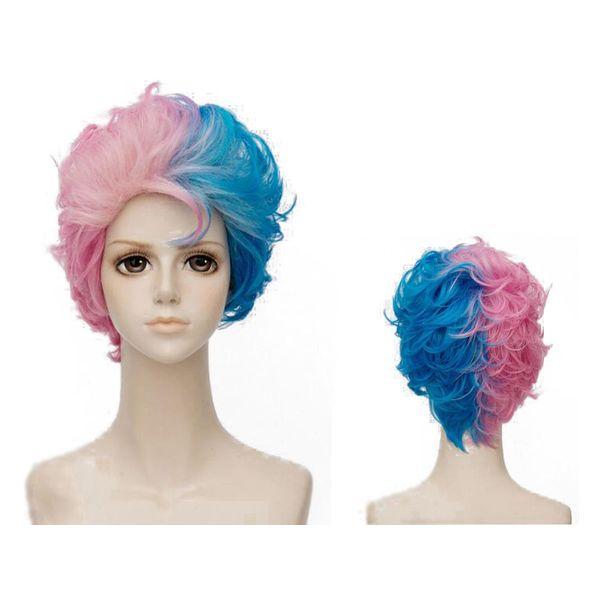 Harley Quinn Short #02 Wig Suicide Squad