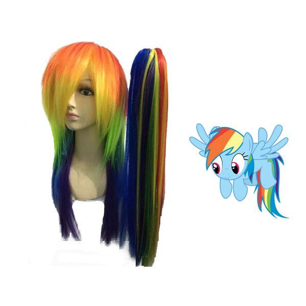 Peluca Rainbow Dash #03 My Little Pony