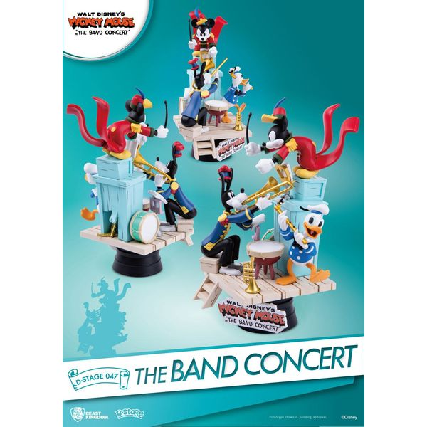 Figura Mickey Mouse The Band Concert Disney D-Stage