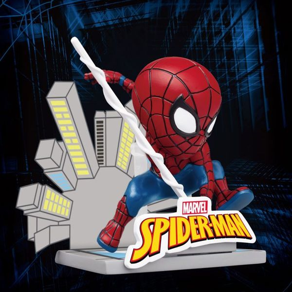 Figura Mini Peter Parker Egg Attack Spider Man Marvel Comics