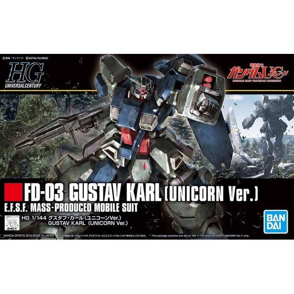 FD-03 Gustav Karl Unicorn Ver Model Kit 1/144 HG Gundam