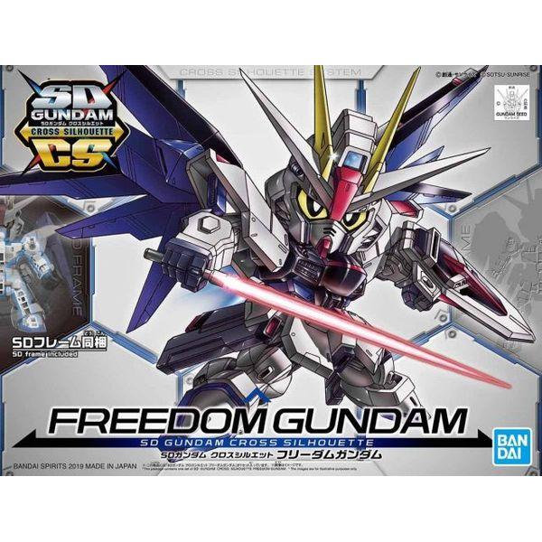 Model Kit Freedom Gundam Model Kit SD Gundam Cross Silhouette