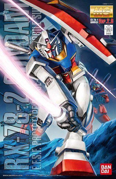 Model Kit Gundam RX 78 2 version 2.0 1/100 MG Gundam
