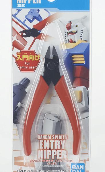 Alicate de Corte Rojo Entry Nipper Gunpla para Model Kit