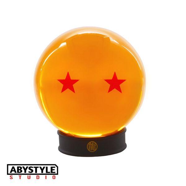 Bola de Dragon 2 Estrellas con base Dragon Ball de ABYstyle